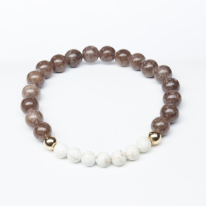 howlite_stretch_bracelet_brown