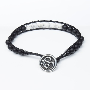 leather_om_button_bracelet_white_and_black