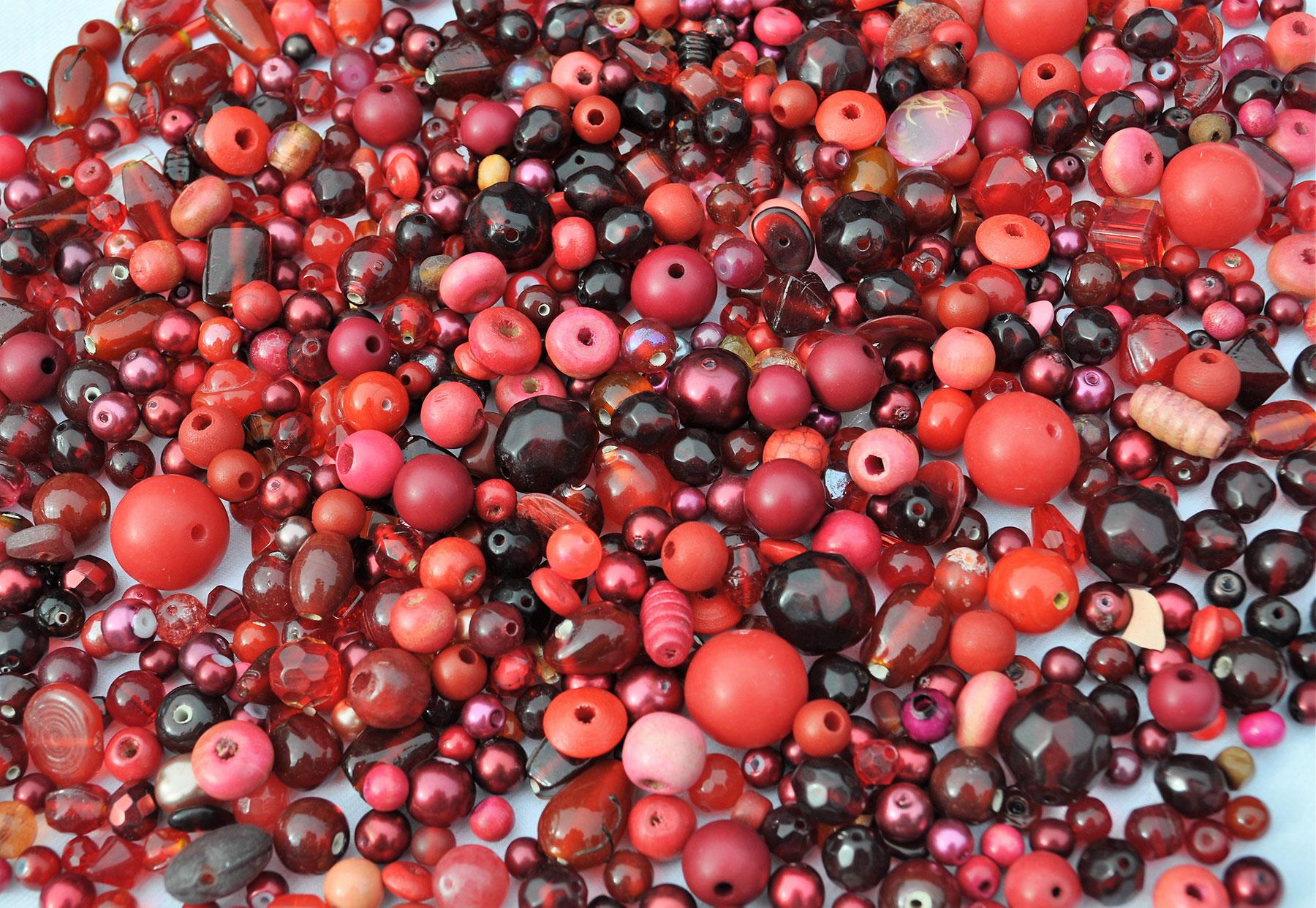 Beads---Reds