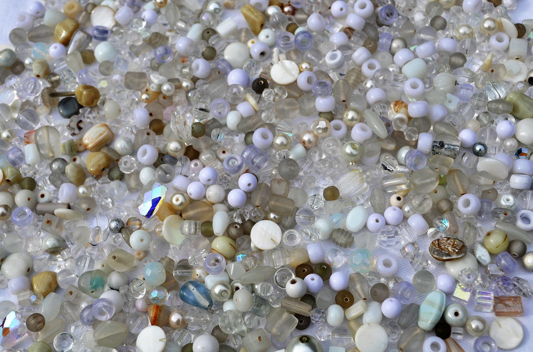 Beads---White