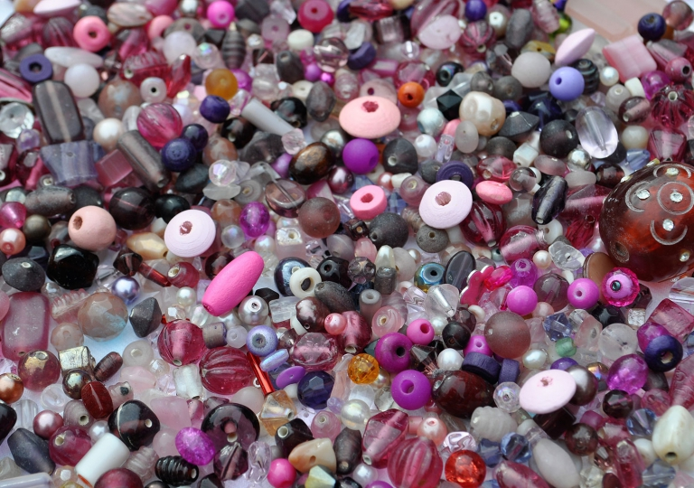 Beads---Pinks