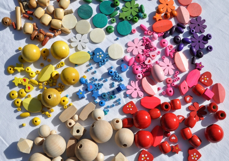 Beads and supplies